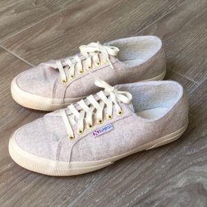 SUPERGA Light Cream Cozy Sneakers